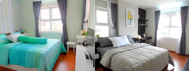 Phòng ngủ của căn hộ 83.6 m2