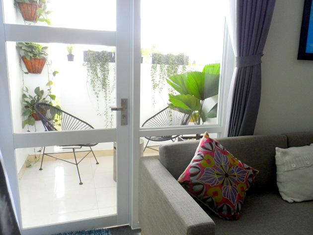 Khu vực không gian mở của căn hộ 83.6 m2