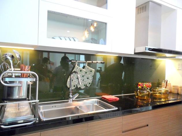 Khu vực bếp của căn hộ 60.2 m2