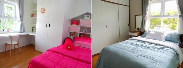 Phòng ngủ dành cho trẻ em của căn hộ 60.2 m2
