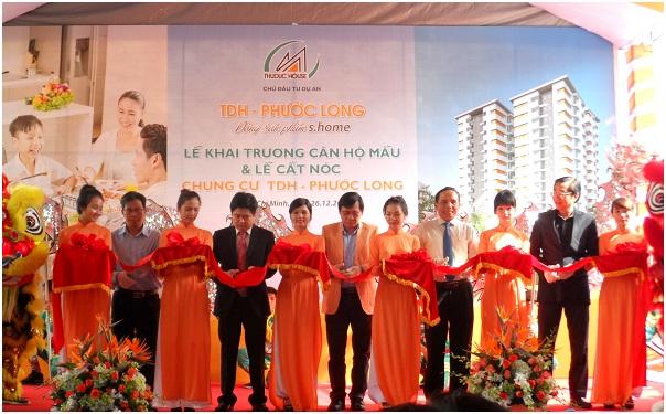 Lễ cất nóc dự án TDH-Phước Long sáng ngày 26/12/2015