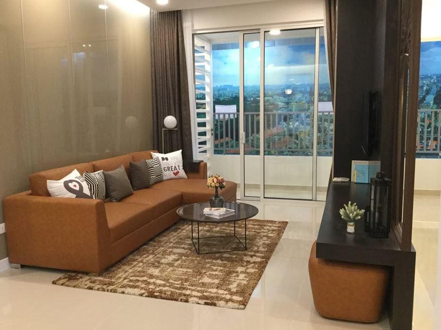 Lối thiết kế căn hộ tại chung cư Golden Mansion
